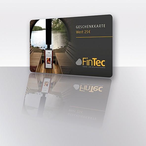 25 Euro Gutscheinkarte für SaunaSteine.de