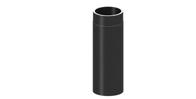 Isoliertes Rauchrohr Längenelement 500 mm