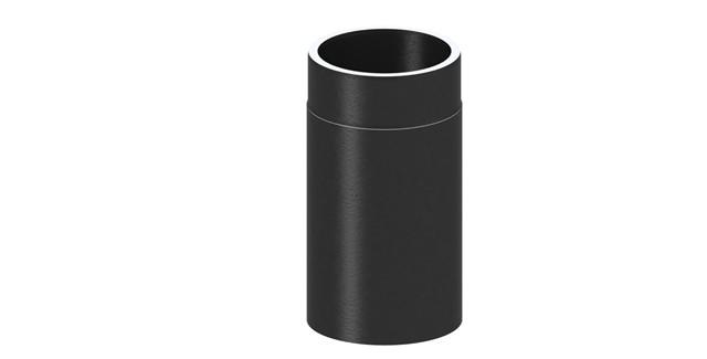 Isoliertes Rauchrohr Längenelement 330 mm