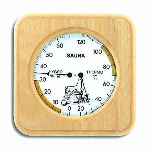 Hochwertiges Sauna-Thermometer / Sauna-Hygromether