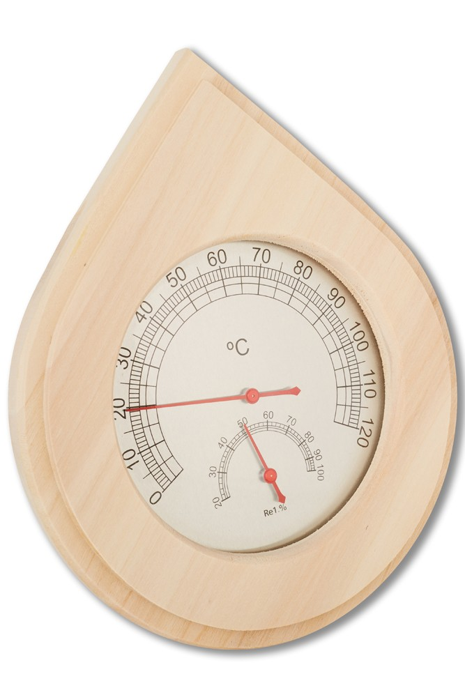 Sauna-Thermometer / Sauna-Hygromether