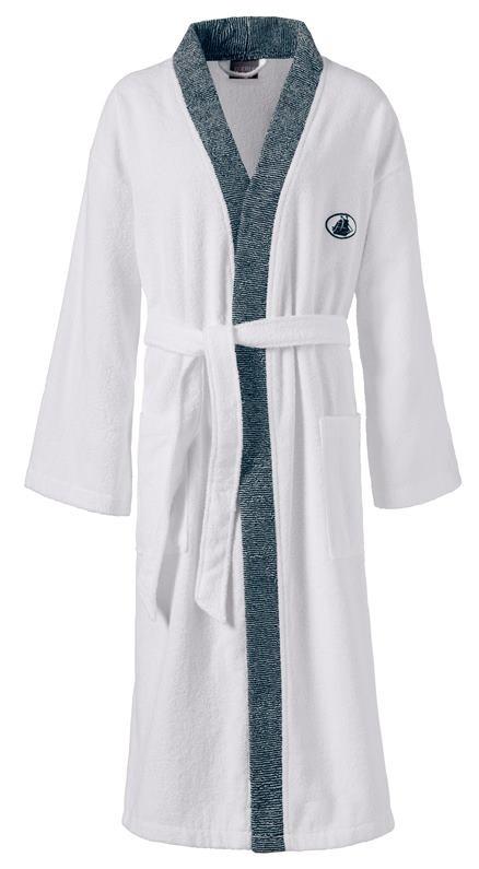 Kimono Black & White  Gr.XL 001 weiss