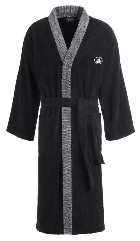 Kimono Black & White  Gr.L 091 schwarz