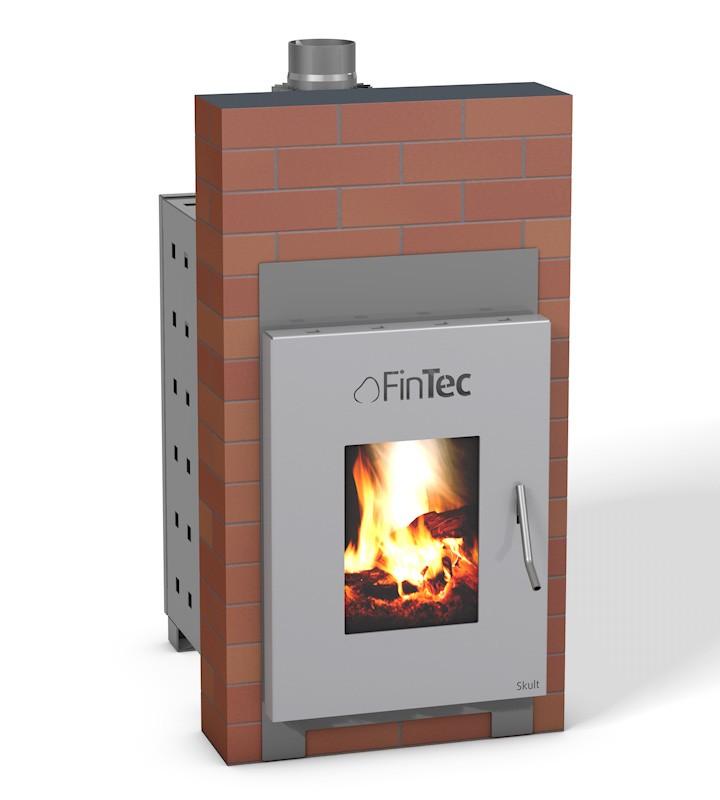 FinTec Holz-Saunaofen SKULT MH (mit Außenbefeuerung)
