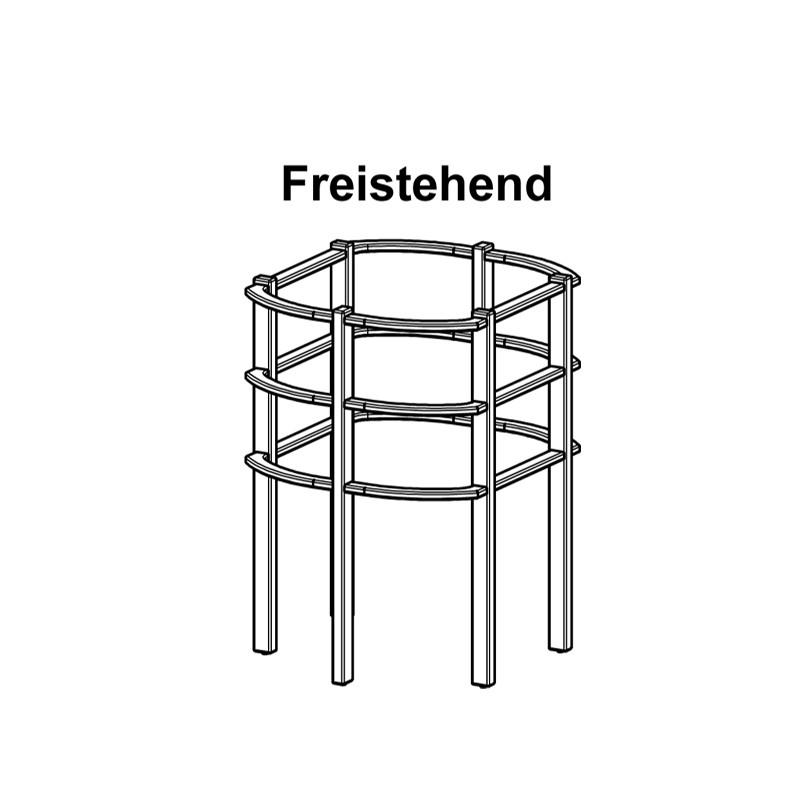 FinTec Ofenschutzgitter Freistehend