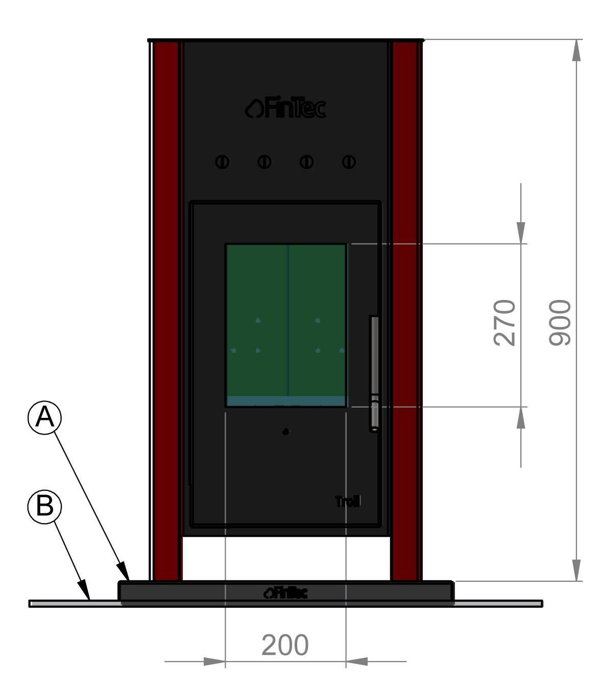 holz saunaofen fintec troll. Black Bedroom Furniture Sets. Home Design Ideas
