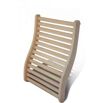 Hcohwertige Rückenstütze für die Sauna
