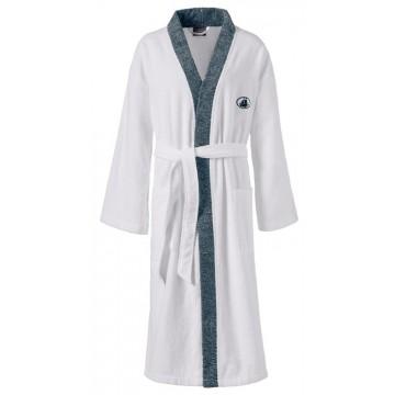 Kimono Black & White  Gr. L 001 weiss