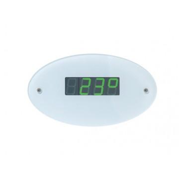 Innenanzeige für Sauna-Ofen-Steuerungen (Temperatur, Feuchte, Uhrzeit)