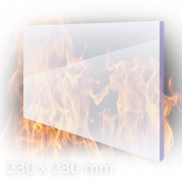 Temperaturfeste Galsscheibe für Saunaofen