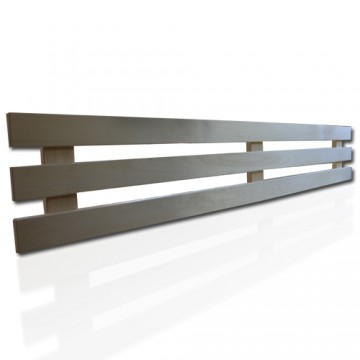 Hochwertige Rückenlehne für Ihre Sauna