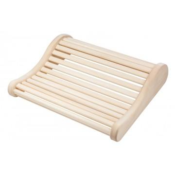 Premium Sauna-Kopfstütze aus Espenholz
