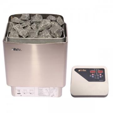 Elektrischer Sauna-Ofen mit 6 oder 9 kW Leistung für kleine private Saunen
