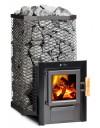 FinTec Arthur MH - Holzbeheizter Saunaofen mit Außenbefeuerung