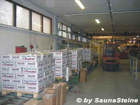Abbau von hochwertigen SaunaSteinen