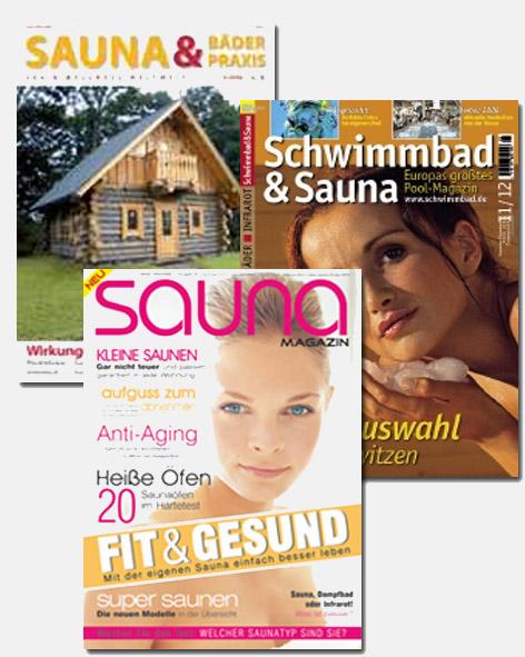 SaunaSteine in Sauna-Fachmagazinen als bester Hersteller für Sauna-Zubehör, SaunaSteine und Sauna-Öfen